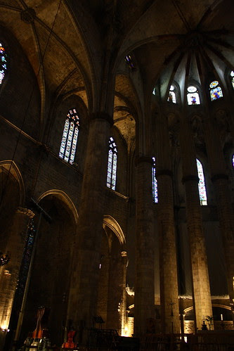 Church of Santa Maria del Mar, Barcelona, Spain