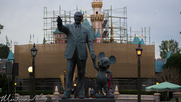 Disneyland Resort, Disneyland, Partners, Statue, Sleeping Beauty Castle, Refurbishment, Refurbish, Refurb, Disneyland60