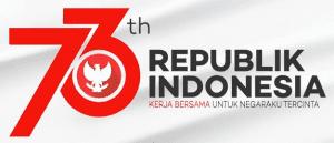 Gambar Logo Resmi HUT Kemerdekaan RI ke 73 Terbaru 2020