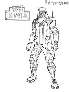 Fortnite Coloring Pages Season 8 Banana Skin | Fortnite ...