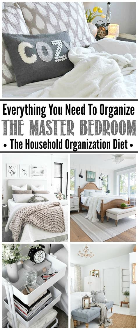 organize  master bedroom september hod clean