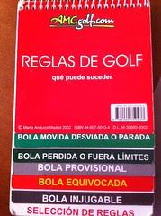 reglas golf básicas