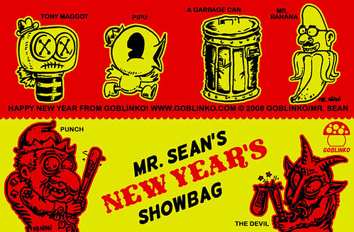 Mr. Sean's New Year's Showbag