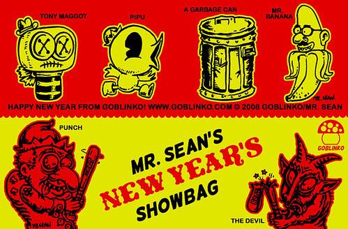 Mr. Sean's New Year's Showbag