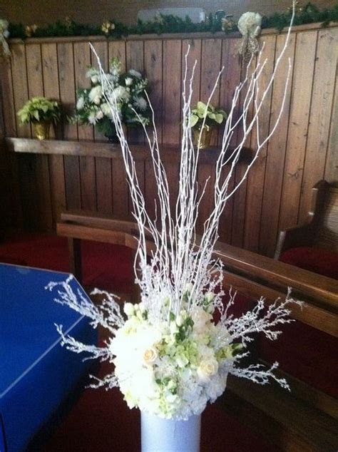 Church altar arrangement   White House Wedding Flowers
