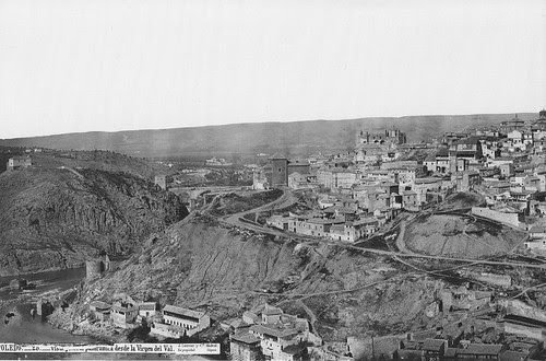 Vista de Toledo desde la Virgen del Val (del Valle). 1872. Foto Jean Laurent. Archivo Ruiz Vernacci. Fototeca Histórica Nacional