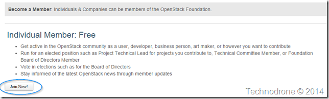 Join OpenStack