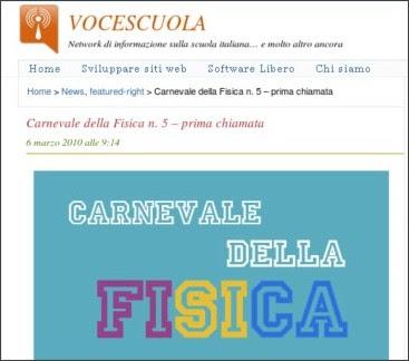 http://www.vocescuola.it/2010/03/06/carnevale-della-fisica-n-5-prima-chiamata/