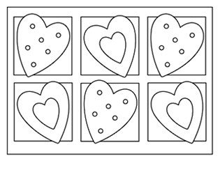530 Coloring Pages For Kids/printables Valentines , Free HD Download