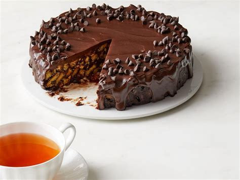 Chocolate Biscuit Cake Recipe   Food Network Kitchen