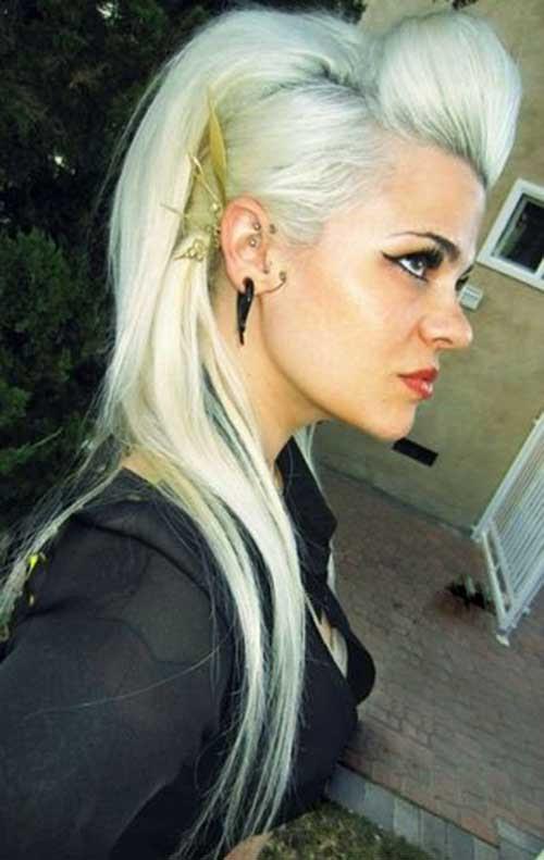 20+ Punk Long Hairstyles   Hairstyles & Haircuts 2016 - 2017