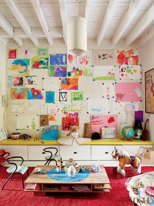 (via Miranda Brooks Brooklyn House – Photos – Vogue)