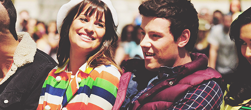 Eh Eh, Nothing Else I Can Say | Lea Michele and Cory Monteith | Filming Glee on...