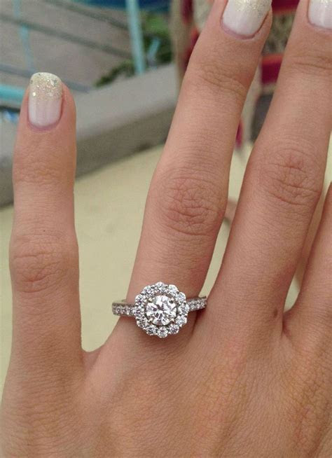 Classic Halo Ring   Dream ring, Wedding ideas and