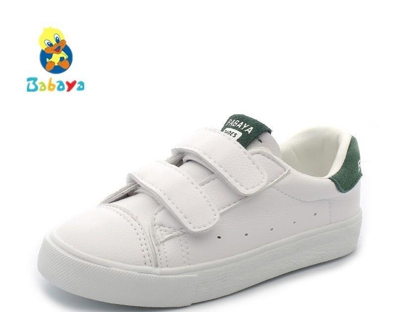 b94e265c2 Comprar Crianças Sapatilhas Sapatos Meninas Meninos Pequenos Brancos  Casuais Para Menina 2018 Primavera Outono Novo Padrão De Moda Da Criança  Baratas Online ...