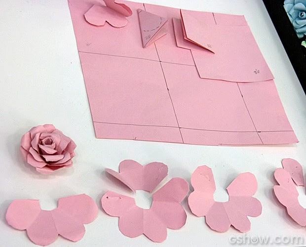 Como Fazer Uma Flor De Papel Simples Flores De Papel
