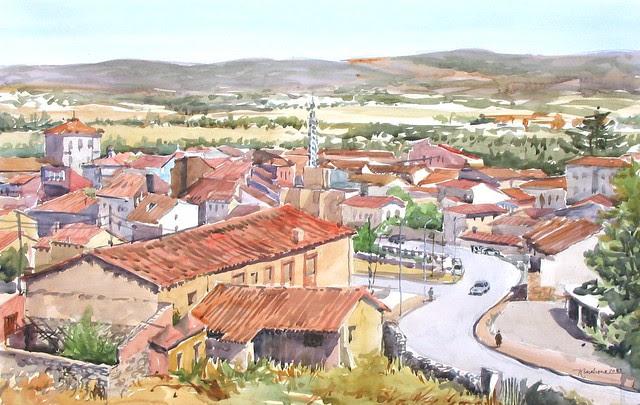 El valle del Corneja desde Piedrahita