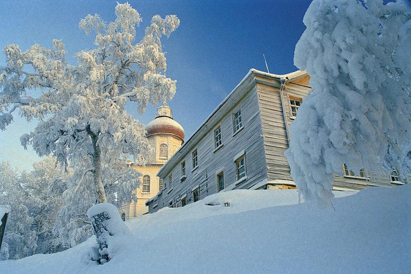 На секирной горе зимой. Фото: Сергей Веретенников