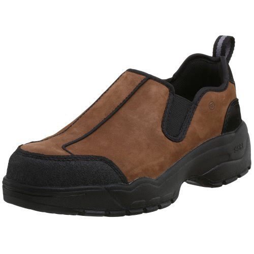 WORX by Red Wing Shoes Men's 5503 Steel Toe Loafer,Brown,5 W