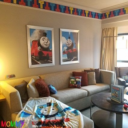 Touring Thomas & Friends Exclusive Suite at New York Hilton Midtown