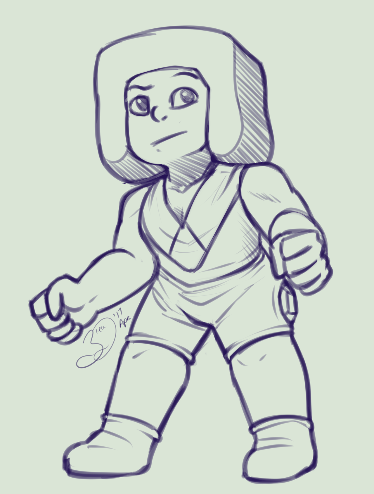 AMD #29 - Leggy the Ruby After a few days of trouble being able to continue the series, I am back with it, with only a few left to actually do on the list. But none the less I guess I just need a...