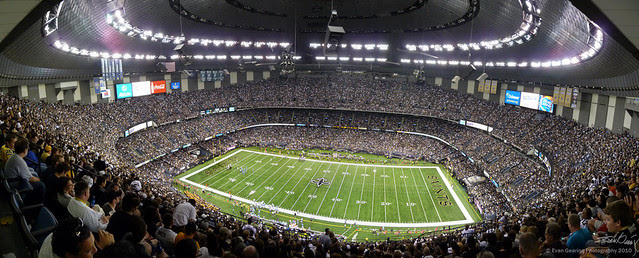 Who Dat Nation (Superdome Interior Panorama)