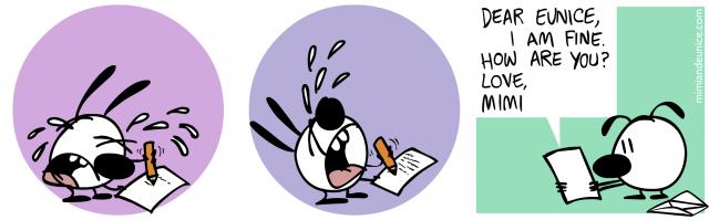 agony of writing