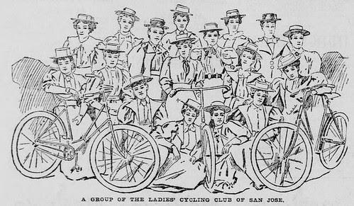 Ladies Cycling Club San Jose CA 1895