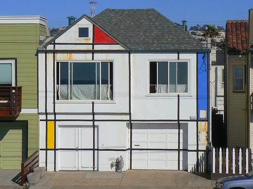 Fachada Escher em San Francisco-USA