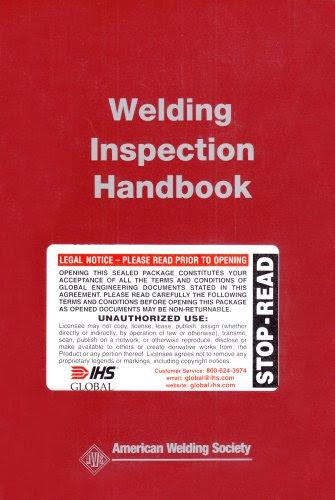 Welding Inspection Handbook Aws Book Tunkamodegek Over Blog Com