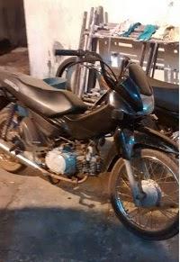 Caxias: Policia recupera moto roubada no Terminal Rodoviário
