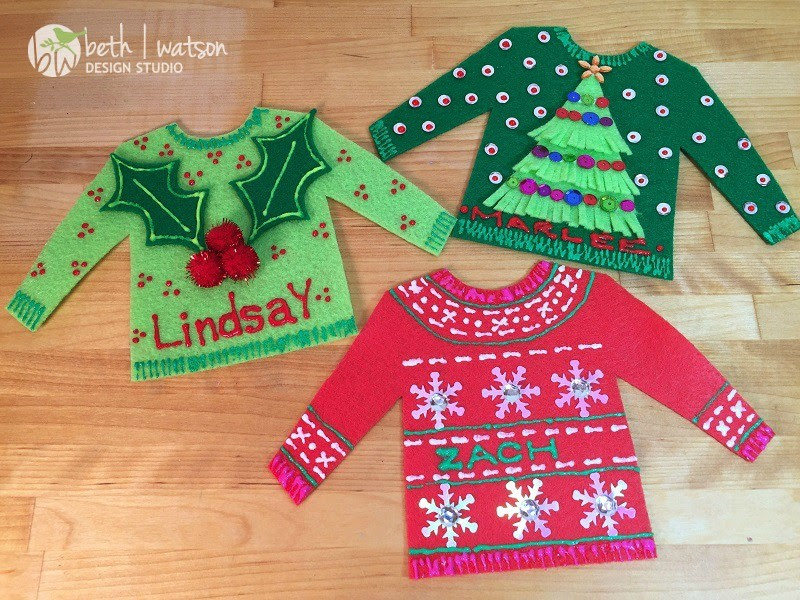 PERSONALIZED UGLY CHRISTMAS SWEATER MAIN 1