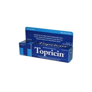 Topricin Anti-Inflammatory Pain Relief and Healing Cream Tube, 2 OZ