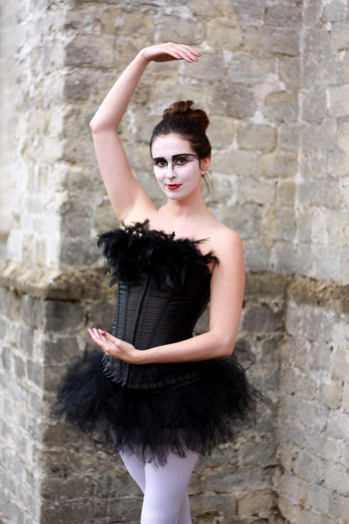 Halloween 2012: Black Swan Costume