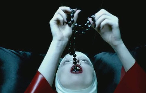 Image result for lady ga ga anti catholic