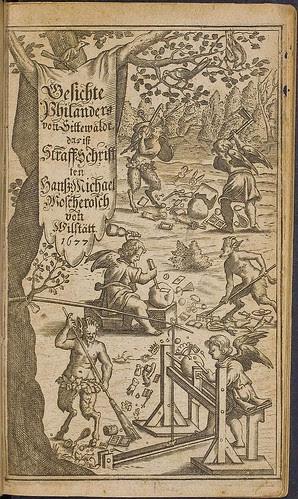 Wunderliche und warhafftige by HM Moscherosch, 1677 (HAB)