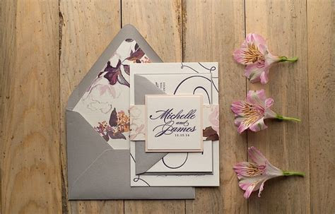 Gorgeous Wedding Invitations   MODwedding