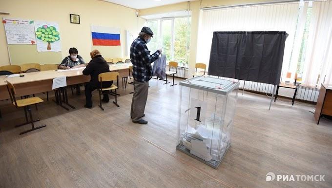 Избирком: более 200 тыс жителей Томской области проголосовали на 12.00