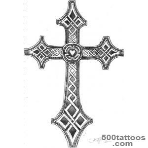 Celtic Cross Tattoos Designs Ideas Meanings Images