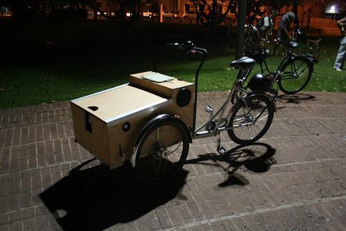 Projector Bike
