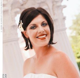 Brides With Brief Hair
