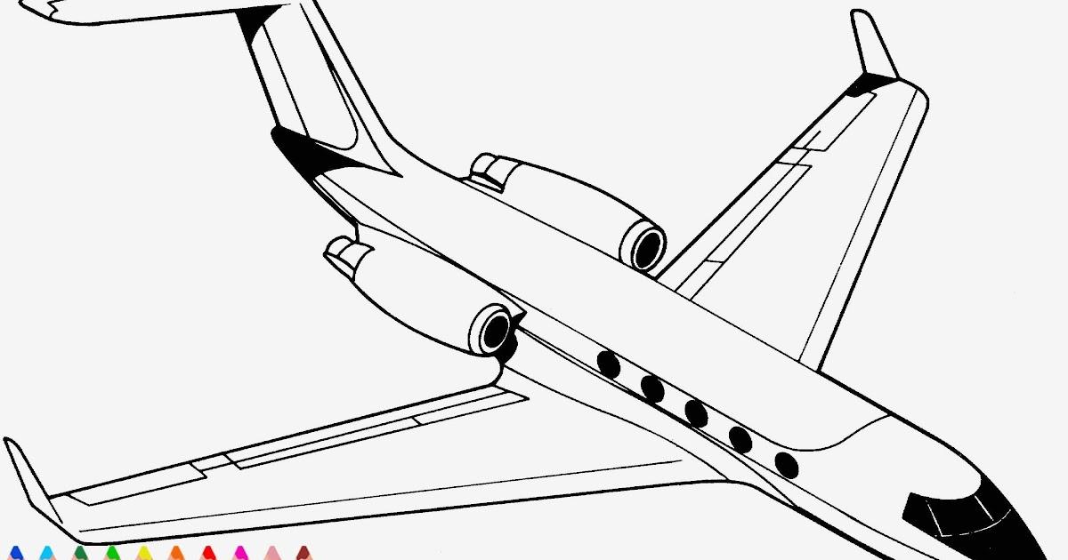 ausmalbilder flugzeuge malvorlagen