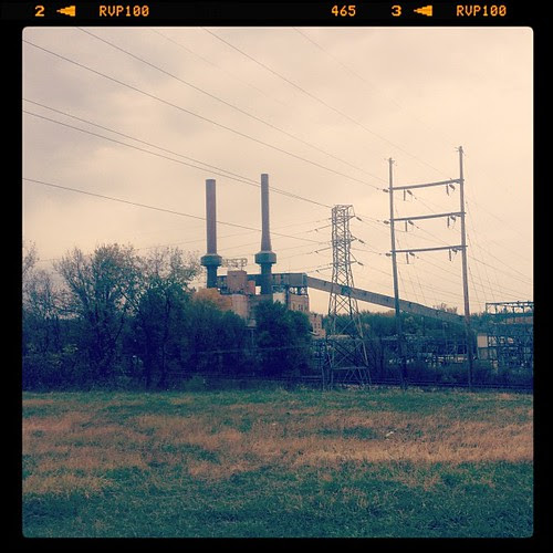 NSP power plant... A moment in time