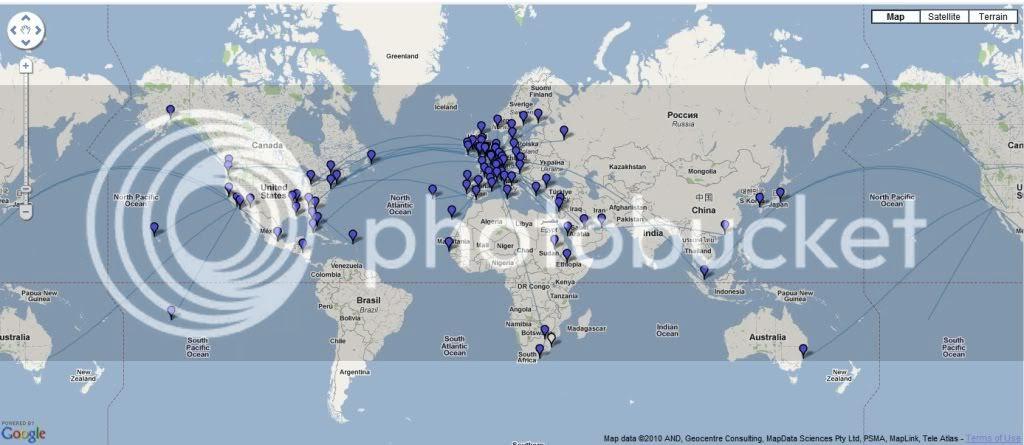 Air France Destinations Map - GOOGLESAKI