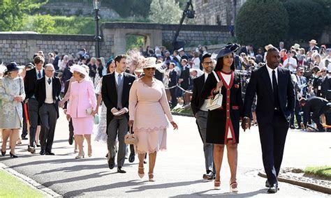 Why Oprah Winfrey needed to change her royal wedding dress