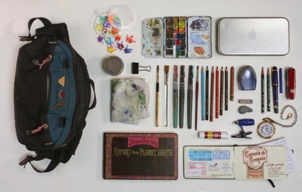 Whats in my Sketching_Bag