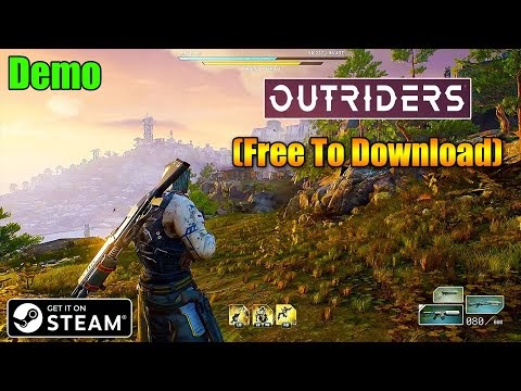 OUTRIDERS Demo STEAM Installation Process (Free To Download) Action, RPG...