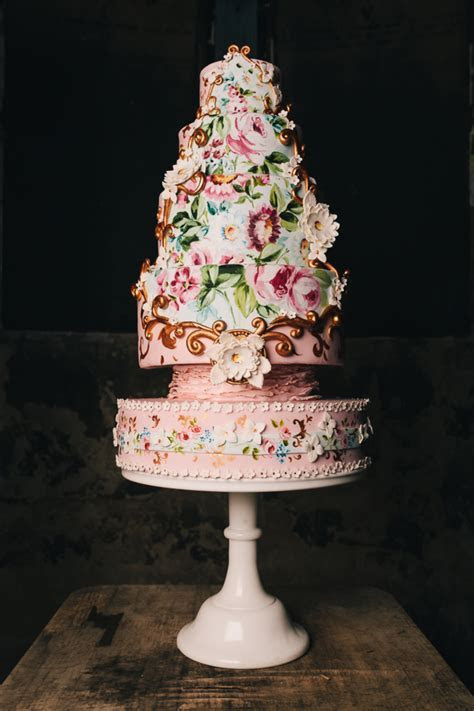 Baroque Wedding Cake   CakeCentral.com