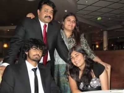 mohanlal and Family