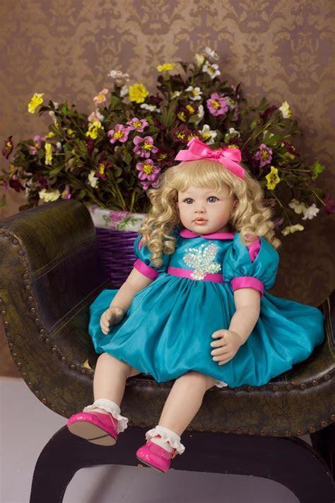 Hot Sale 55cm Silicone Vinyl Reborn Baby Doll Lifelike